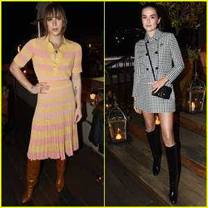 Tommy Dorfman Shows Off New Bangs at 'InStyle' Dinner With Zoey Deutch & More