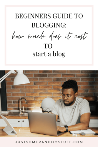 Beginners guide to blogging: this is how much it will cost you to start a blog