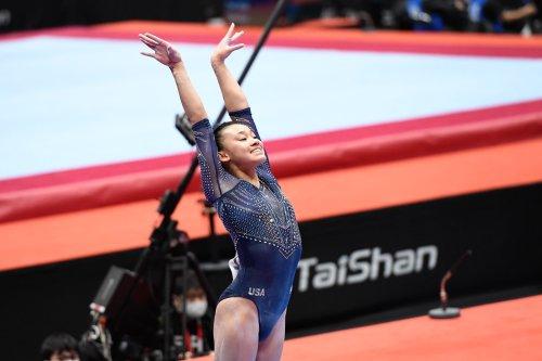 Leanne Wong headlines Team USA's three medals at gymnastics worlds