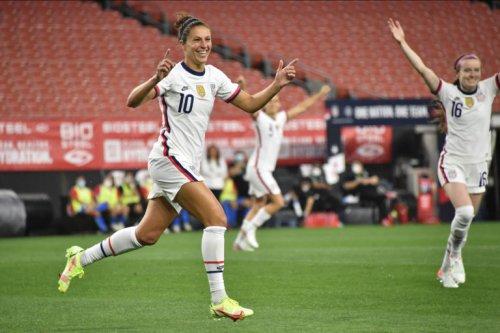 USWNT coach Vlatko Andonovski calls Carli Lloyd a 'soccer icon'