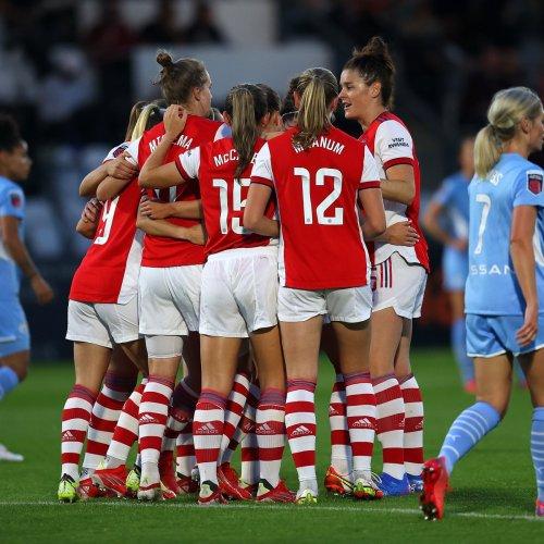 Arsenal beats Man City 5-0 in Tobin Heath's debut