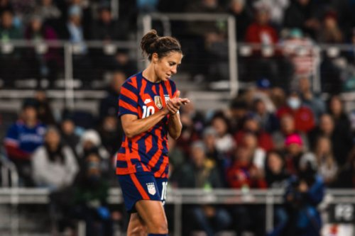 'We want to carry on her legacy': Carli Lloyd completes final mission with USWNT