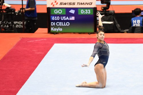 Team USA's Kayla DiCello, Leanne Wong advance to finals at gymnastics worlds