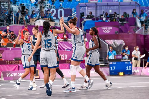Team USA goes undefeated in Olympics 3×3 basketball on opening day