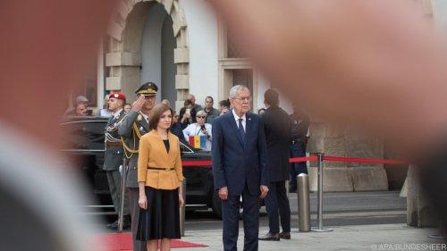 Moldauische Präsidentin will stärkere Kooperation mit Wien