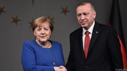Vor letztem Besuch von Merkel bei Erdogan