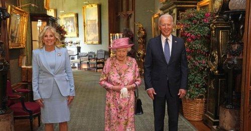 Queen empfing US-Präsident Biden und First Lady in Windsor
