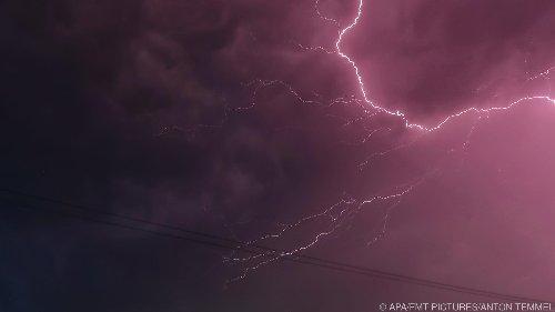 Erneut schwere Unwetter in Salzburg