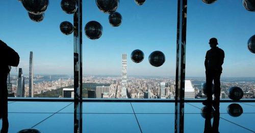 Spektakuläre neue Aussichtsplattform in New York eröffnet