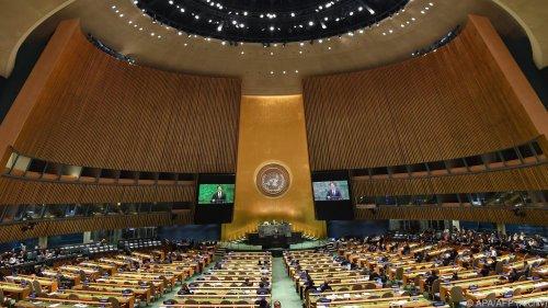 """UN-Vollversammlung 2021 fast wieder """"as usual"""""""