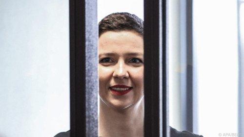 Oppositionelle Kolesnikowa gewinnt Vaclav-Havel-Preis