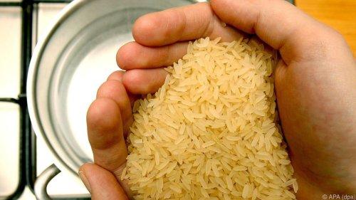 Reis sollte nicht ständig auf dem Speiseplan stehen