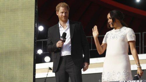 Meghan und Harry werben bei Konzert für Impfgerechtigkeit