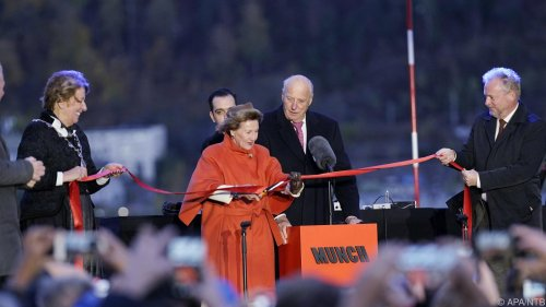 Königspaar eröffnete neues Munch-Museum in Oslo