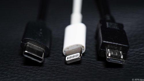 Endlich: In Zukunft nur mehr ein Kabel für alle Handys