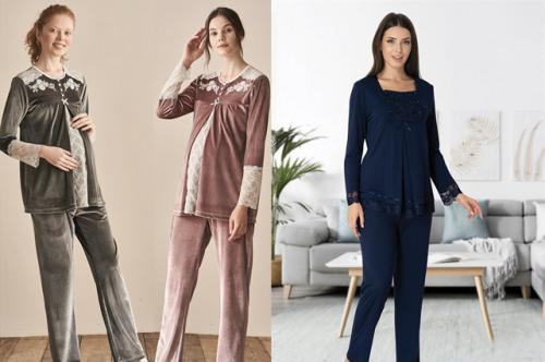 Lohusa Pijama Modelleri İle Emzirme Artık Sorun Değil