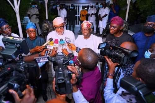 South-West govs silent after meeting in Lagos, visit Tinubu