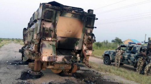 Many feared dead in Boko Haram's failed attack on Damasak military base