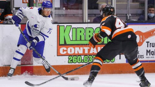 Wichita Thunder's ECHL playoff run ends in heartbreak with Game 5 road overtime loss