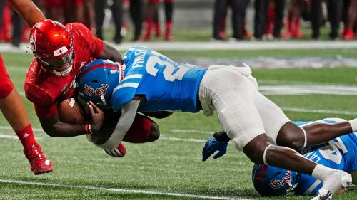 Four ejections in Ole Miss-Louisville game leads to calls for change to targeting rule
