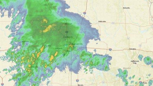 Hail, wind, 'ponding' possible as storms move through Kansas City metro Sunday