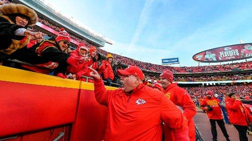 Chiefs coach Andy Reid: Kansas City fans at Arrowhead Stadium are 'like a 12th man'