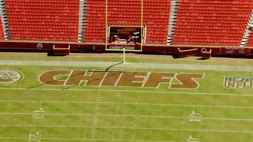 Kansas City Chiefs unveil new logos for 'GEHA Field at Arrowhead Stadium'