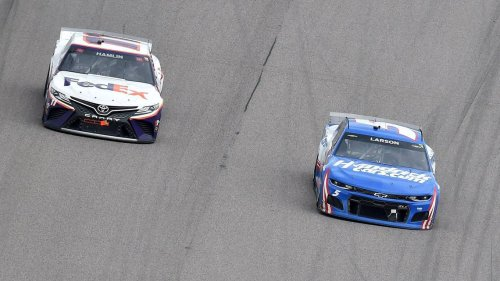 Another great performance at Kansas Speedway comes up short for NASCAR's Kyle Larson