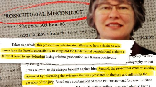 Kansas prosecutor accused of misconduct in murder, rape cases resigns