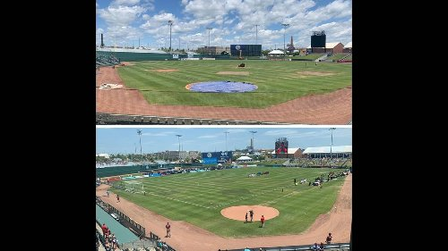 Behind the grass: Baseball to soccer transition no easy feat at Legends Field in KCK