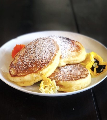 Moist And Fluffy Ricotta Pancakes
