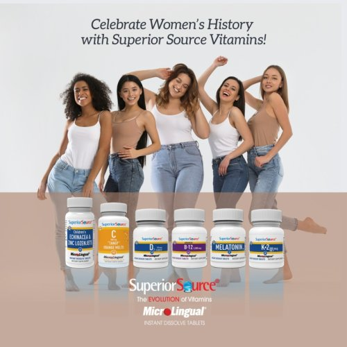Prepare For National Nutrition Month With Superior Source Vitamins