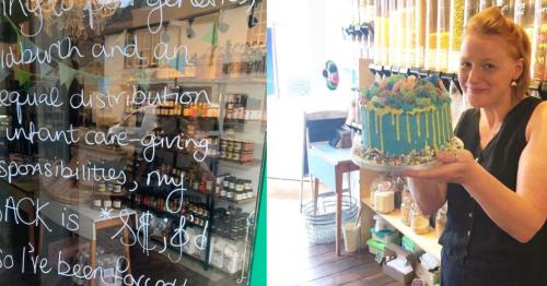 Sevenoaks shop praised for 'best shut sign ever' blaming patriarchy for closure