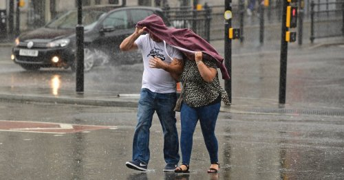 Met Office predicts downpours to cause weekend washout in Kent