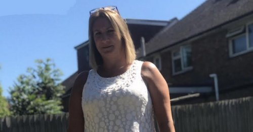 Mum 'on verge of breakdown' after rubbish piled high in neighbour's garden