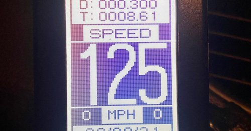Motorist speeding down A2 at 125mph told police 'he was being chased'