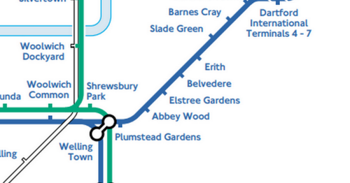Amazing map shows where would get a stop if the Tube reached Kent