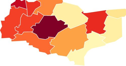 New Kent COVID map shows areas where infection rates are surging highest