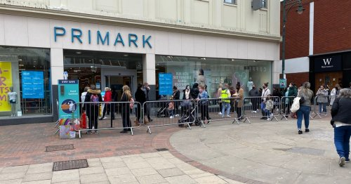 Three days on and people are still queuing for Primark