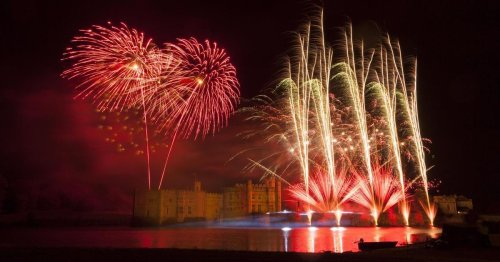 Spectacular firework displays and Bonfire Night events in Kent in 2021