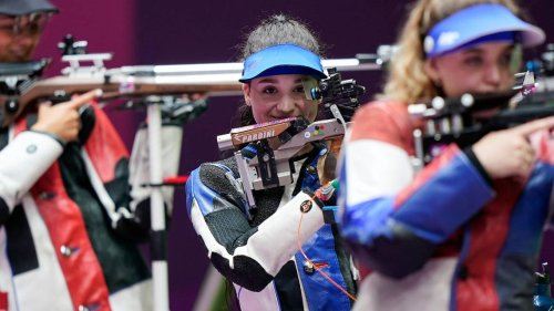 Kentucky rifle team's Tucker finishes sixth in her Olympics debut event