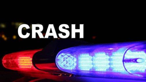 Tarp-like object on man's windshield caused serious crash that shut down New Circle