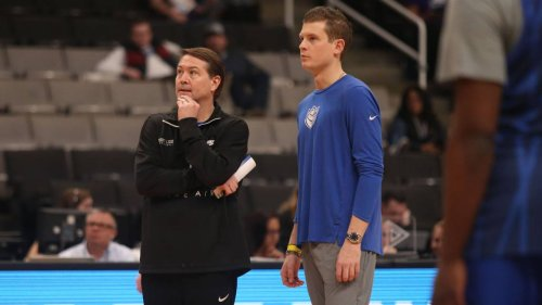 'I'm struggling with it.' Heartbroken Travis Ford seeks to push through grief.