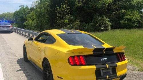Man was driving 143 mph on Kentucky highway, police say ... until he ran out of gas