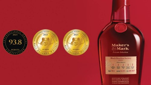 A Maker's Mark private selection bourbon just won two gold medals. Again.