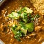 Low-Carb Chicken Tortilla Soup Recipe