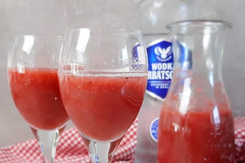 Erdbeerlimes ohne Zucker - so kannst du in Ketose bleiben