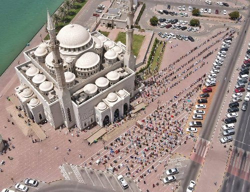Ramadan in UAE: Stunning scenes as holy month's first Friday prayers are offered