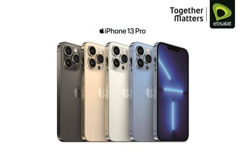 Etisalat offers iPhone 13 Pro and iPhone 13 pre-orders from September 17