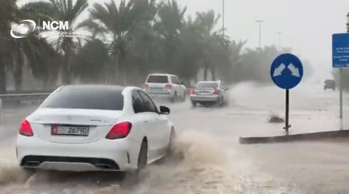 Watch: Heavy rains, flooding, reported over several parts of UAE